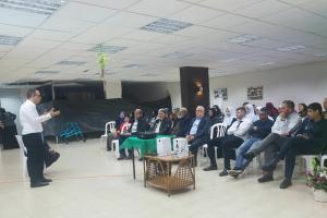 ערב עיון בנושא זכויות רפואיות שהתקיים בטייבה